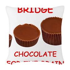 BRIDGE Woven Throw Pillow