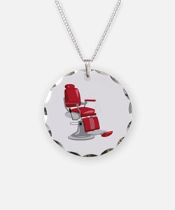 Barber Chair Necklace