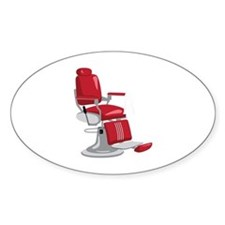 Barber Chair Decal