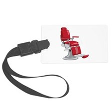 Barber Chair Luggage Tag