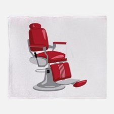 Barber Chair Throw Blanket