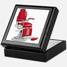 Barber Chair Keepsake Box
