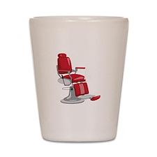 Barber Chair Shot Glass