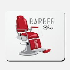 Barber Shop Mousepad
