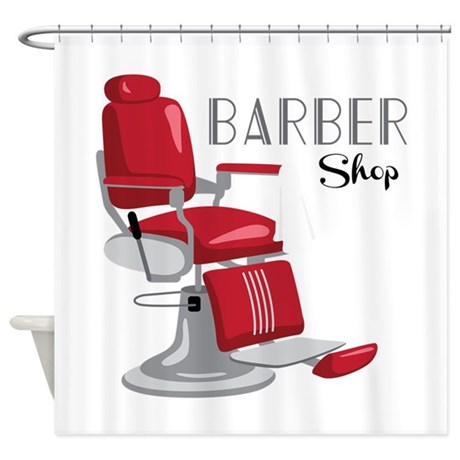 barber shop shower curtain by hopscotch12