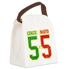 Cinco de Mayo Athletic Dept Canvas Lunch Bag