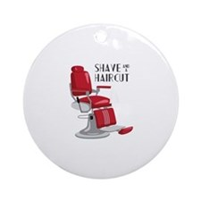 Save And A Haircut Ornament (Round)