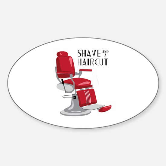 Save And A Haircut Decal