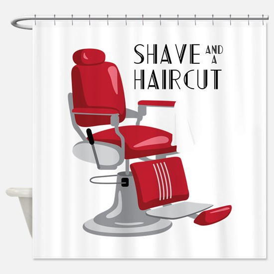 Save And A Haircut Shower Curtain