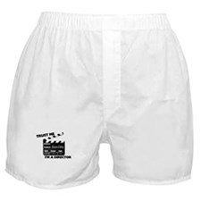Trust Me I'm A Director Clapboard Boxer Shorts