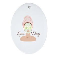 Spa Day Ornament (Oval)