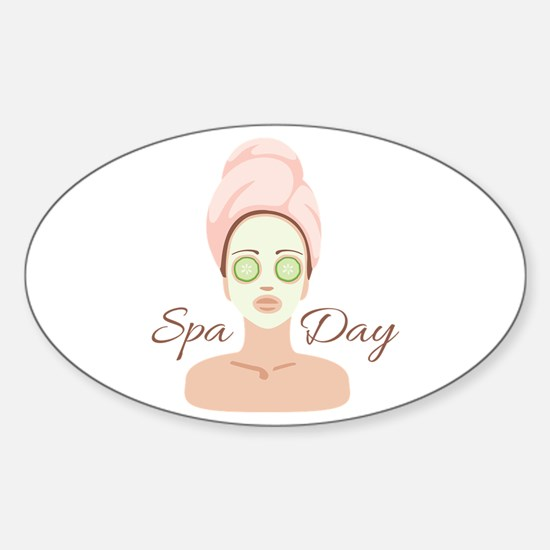 Spa Day Decal