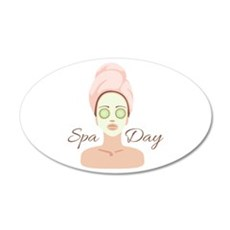Spa Day Wall Decal