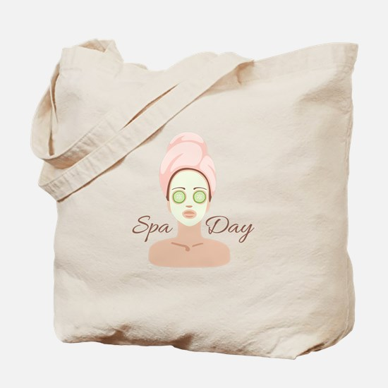 Spa Day Tote Bag