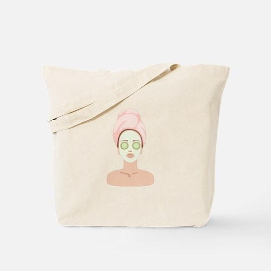 Spa Facial Tote Bag