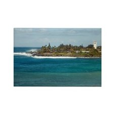 waimea beach park Rectangle Magnet
