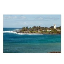 waimea beach park Postcards (Package of 8)