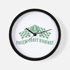 Highway 1 MC Wall Clock