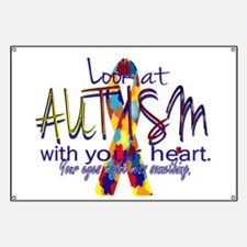 Look at Autism Banner