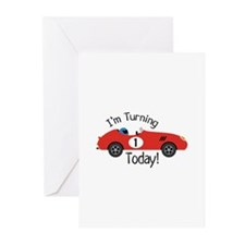 IM TURNING TODAY! Greeting Cards