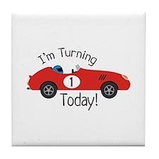 IM TURNING TODAY! Tile Coaster