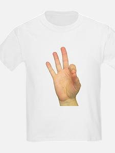 ASL Letter F T-Shirt