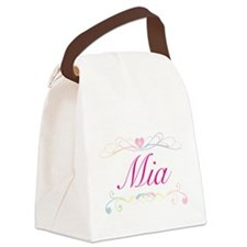 Mia Canvas Lunch Bag