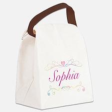Sophia Canvas Lunch Bag