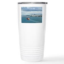 container ship Travel Mug