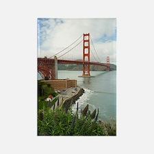 golden gate bridge south Rectangle Magnet