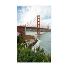golden gate bridge south Decal