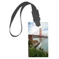 golden gate bridge south Luggage Tag