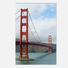 golden gate and bridge Postcards (Package of 8)