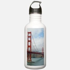 golden gate and bridge Sports Water Bottle