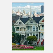 Painted Ladies Postcards (Package of 8)
