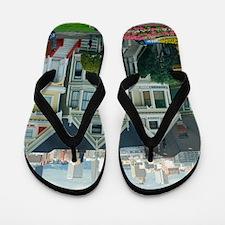 Painted Ladies Flip Flops