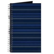 Blue Stripes Journal
