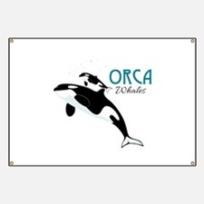 Orca Whales Banner