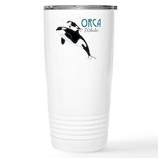 Orca Whales Travel Mug