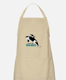 Save The Whales Apron