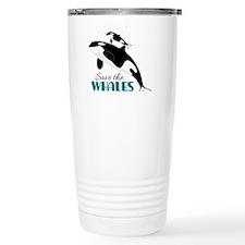 Save The Whales Travel Mug