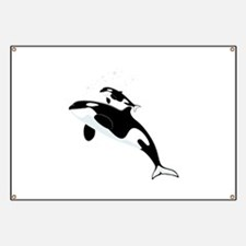 Killer Orca Whales Banner