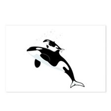 Killer Orca Whales Postcards (Package of 8)