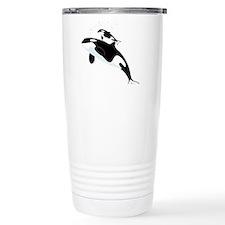 Killer Orca Whales Travel Mug