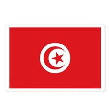 flag Tunisia Postcards (Package of 8)