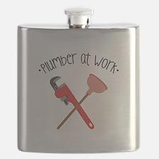 -Plumber at work- Flask