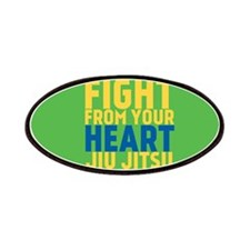Learn from the street Jiu Jitsu Patches