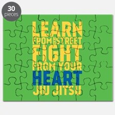 Learn from the street Jiu Jitsu Puzzle