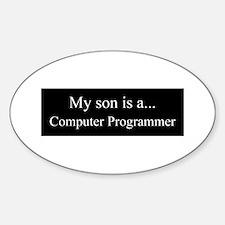 Son - Computer Programmer Decal
