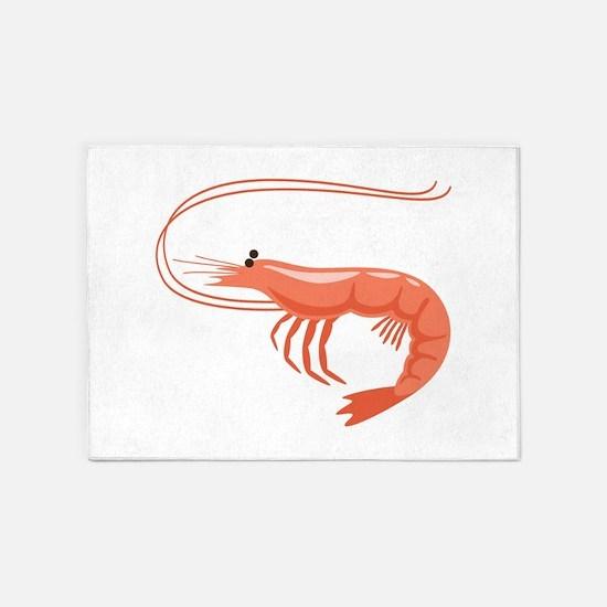 Prawn Shrimp 5'x7'Area Rug